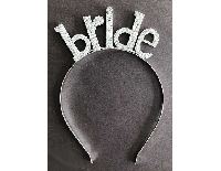 TAÇ BRIDE TO BE METAL BRIDE GÜMÜŞ PK:1 KL:50