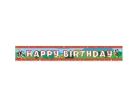 MICKEY CLUB HOUSE BIRTHDAY FOLYO BANNER