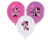 BALON 4+1 MINNIE BASKILI PASTEL