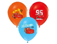 BALON 4+1 THE CARS BASKILI PASTEL